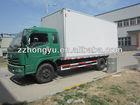 4tons Foton box van truck/dry box truck