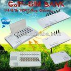 voip SIM BANK / 32 SIM crads remote control SMB32 3 sim card mobile phones