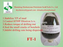 Drilling Fluid&Drilling Mud&Oilfield Chemical -luminum Sulfonated Asphalt FT-1