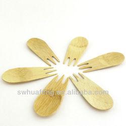 2015 Fashion bamboo fruit fork
