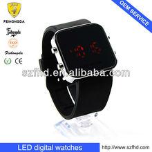 2013 fashion Led promotional watch ,digital led watch