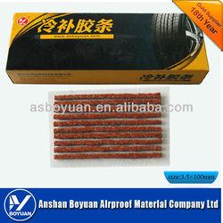 tire repair seal string 100*3.5mm brown
