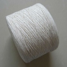 open end recycled poly cotton core spun yarn for knitting and weaving