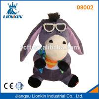 09002 soft plush and stuffed toy donkey