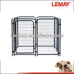 5' x 5' x 4' heavy duty welded tubing dog cage aluminium