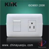 6A 250V/10A127V Electric switch and socket Modern