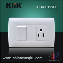 6A 250V/10A127V Electric switch and socket Modern