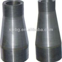 BG double thread pipe flange nipple----reducing /swage