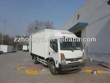 cheapest 4tons box truck/small box trucks for sale