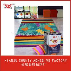 Carpet adhesive glue