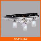 FT-6011-3+1,modern led crystal ceiling lamp lighting