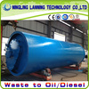 waste tyre pyrolysis machine to fuel oil with 10T/D capacity