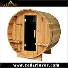 Wooden room outdoor cabin barrel sauna