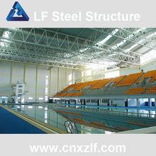 light steel truss roof steel frame space structure sports hall stadium