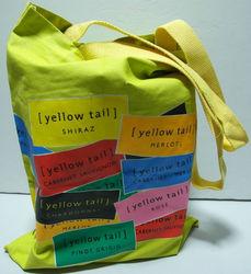 yellow tail bag cotton bag