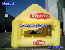 Commercial Inflatable LIpton outdoor booth