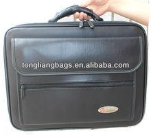 Newest good quality shoulder messenger PU laptop bag computer bag for businessman