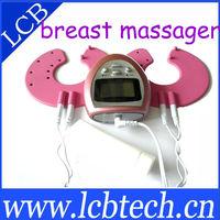 Electric vibrating breast enhancer enlargement massager device for women