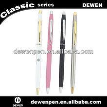 slim ball pen retractable cheap ball pen white ball pen