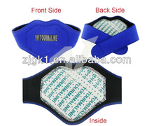 Active magnetic neck protector
