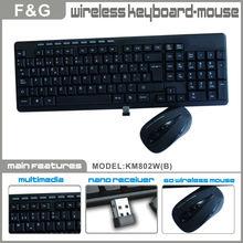 2.4g wireless keyboard mouse suit
