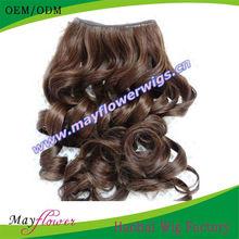 natural brown remy peruvian hair weaves spring curl human hair extension 8inchs-32inchs long hair