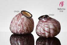 colored glass vases home decor