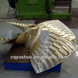 Marine Manganeses Bronze Propeller/ Cu1 Bronze Ship Propeller for Sale