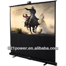 projector floor screen /pull up projector screen/cinema screen
