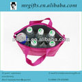 Good price eco-friendly polyester small thermal cooler bag for beer bottle