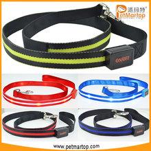 NEW Led Flashing Pet Leash with Nylon Waterproof Webbing TZ-PET6102 Dog Products in China