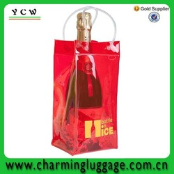 Wholesales professional factory price hot sale wine cooler bag PVC wine bag