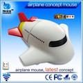 Avião mouse 2.4 ghz personalizado wireless mouse avião