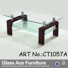 cheap glass coffee table