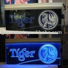 Laser Engraving Acrylic LED Sign