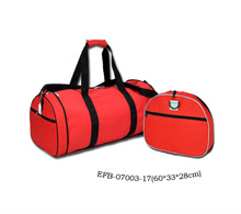 Good lucky red foldable bag Pocket friendly size travel luggage bags