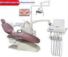 Foshan Suntem 560 CE ISO real leather 9 memory luxury dental unit