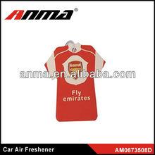 Nice anima cartoon shape car paper air freshener car air freshener manufacturer