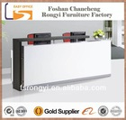 OEM 2014 newest product sell MDF and Melamine wooden modern cheap desk reception