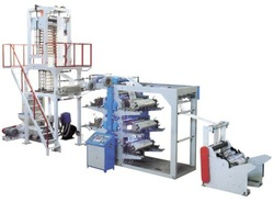 Plastic PE blow film machine