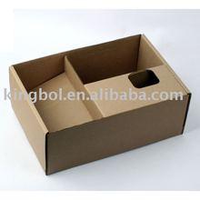 B flute Corrugated packing box insert