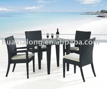 2014 Veranda Best selling coffee shop rattan dining set