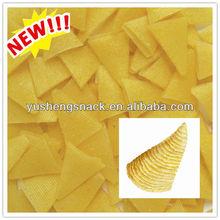 NON-GMO Bugle/Cone Corn Snack Pellets(YY3D-11)