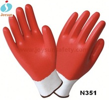 Good!nitrile coated cotton work glove hot and cold pack gloves