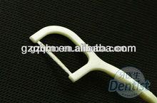Dental floss plastic toothpicks to floss