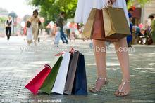 2014 new design paper gift bag &custom shopping bag
