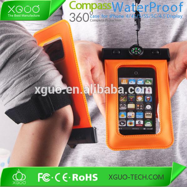 Hot PVC waterproof bag for phone,mobile phone PVC waterproof bag