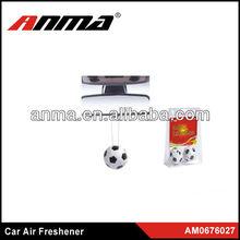 various design car toy air freshener football/shoes/car wheel/hat/basketball/ dice air freshene