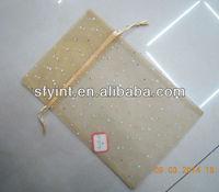 small organza drawstring pouches