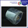 clear rigid plastic roll